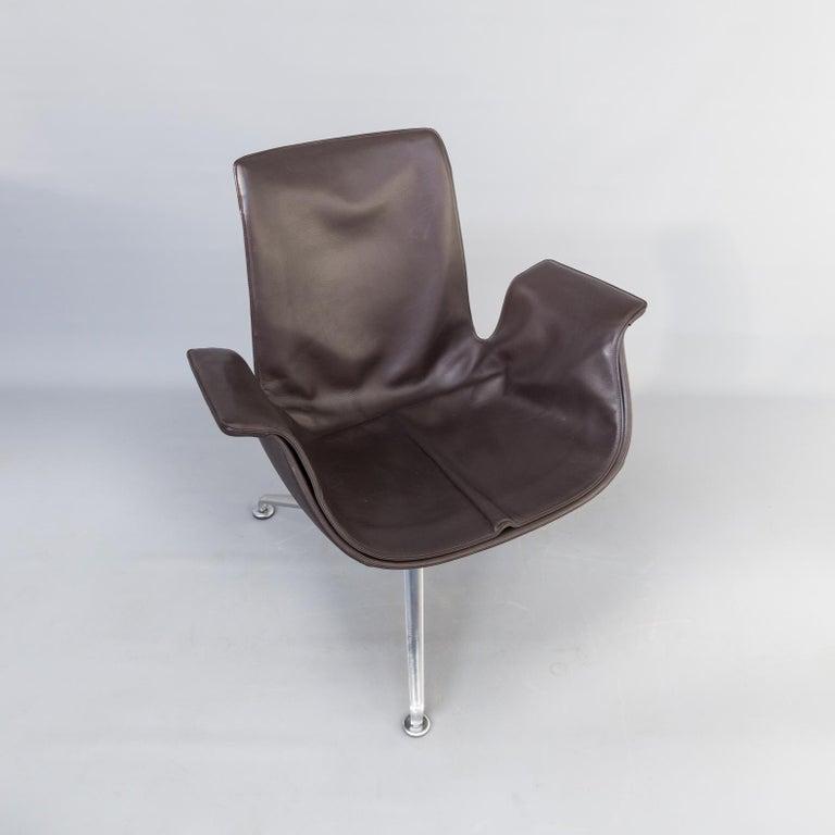 1950s Jørgen Kastholm & Preben Fabricius 6727 Tulip Lounge Chair for Knoll For Sale 8