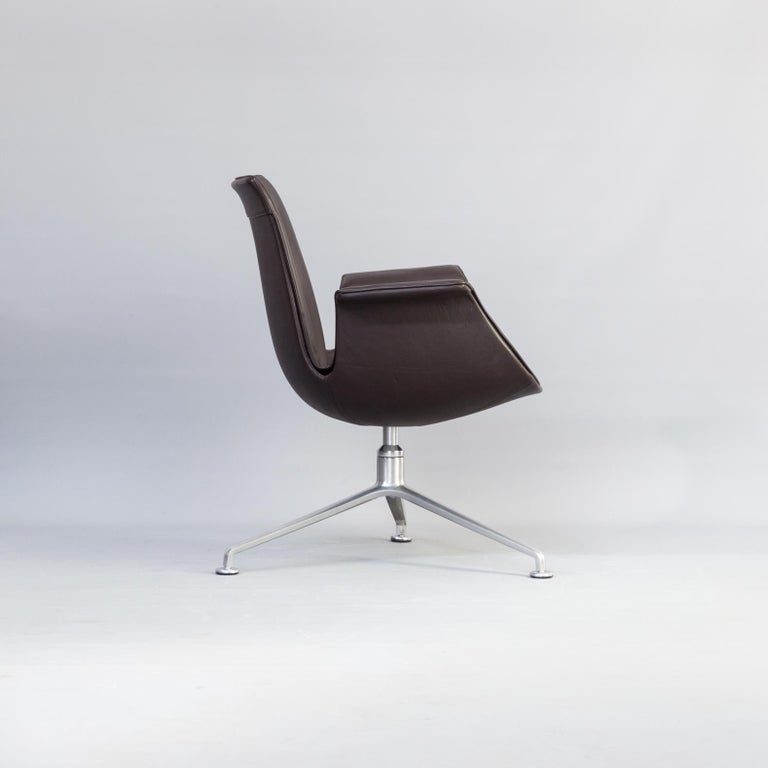 1950s Jørgen Kastholm & Preben Fabricius 6727 Tulip Lounge Chair for Knoll In Good Condition For Sale In Amstelveen, Noord
