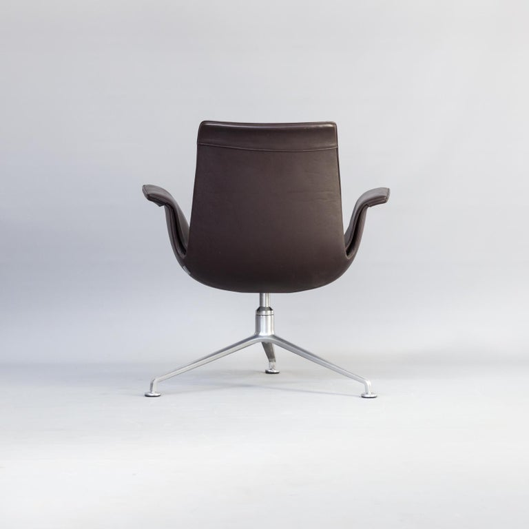 Mid-20th Century 1950s Jørgen Kastholm & Preben Fabricius 6727 Tulip Lounge Chair for Knoll For Sale