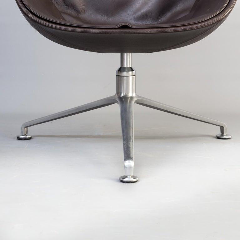 1950s Jørgen Kastholm & Preben Fabricius 6727 Tulip Lounge Chair for Knoll For Sale 2