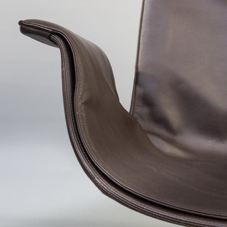 1950s Jørgen Kastholm & Preben Fabricius 6727 Tulip Lounge Chair for Knoll For Sale 3