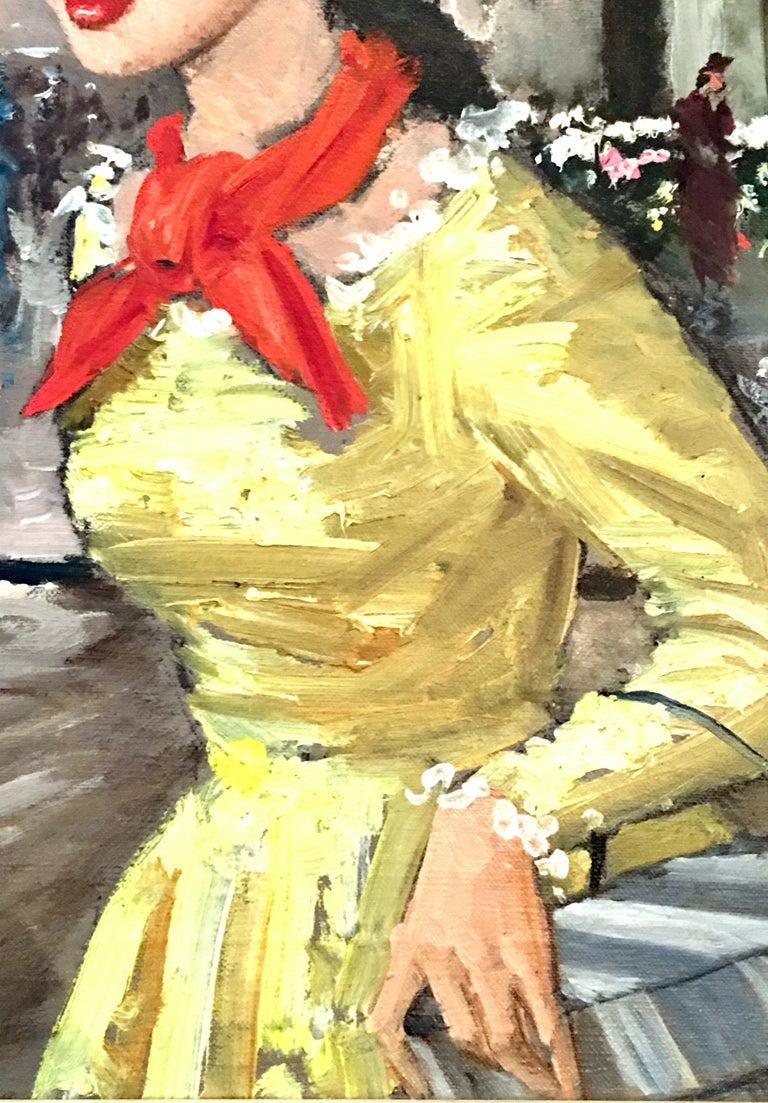 1955 Original Oil on Canvas Painting