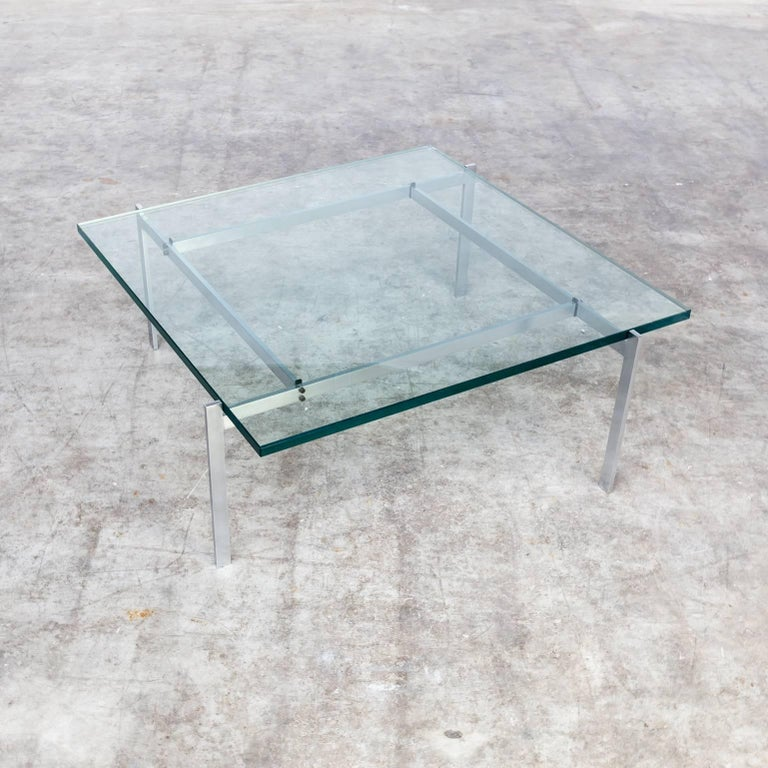 Danish 1950s Poul Kjaerholm 'PK61' Coffee Table for EKC For Sale