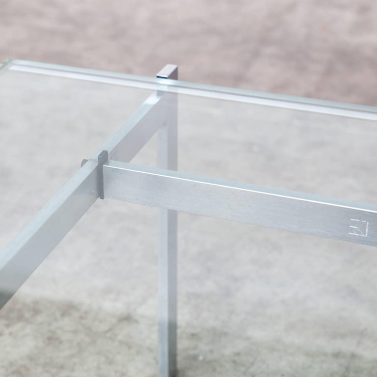 1950s Poul Kjaerholm 'PK61' Coffee Table for EKC For Sale 1
