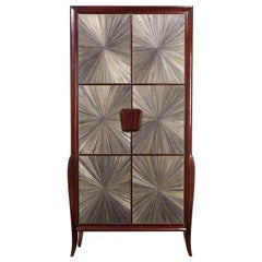 50S Style Mahogany Cabinet 8718