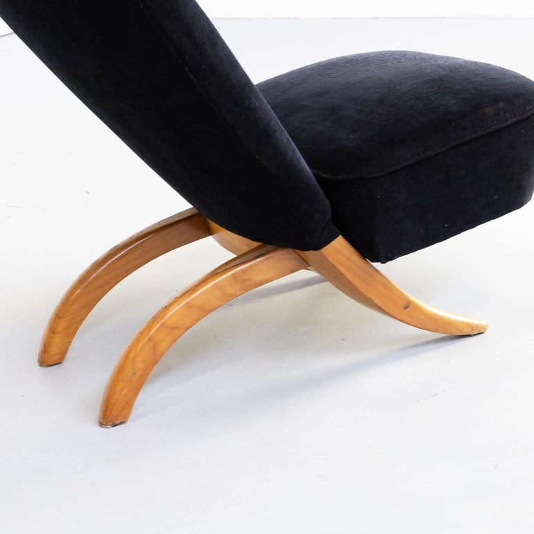 1950s Theo Ruth 'Congo' Fauteuil for Artifort Set/2 For Sale 4