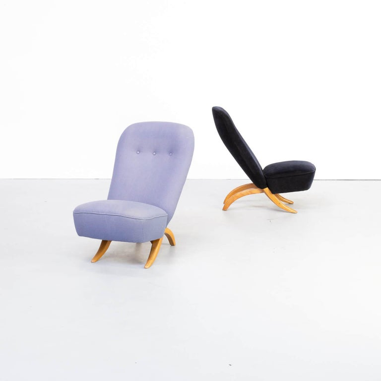 Ruth was Artifort's first permanent designer and he had a major impact on its design legacy. His most famous pieces include the 1952 Congo Chair and the 1953 Penguin Chair, both of which were constructed from two interlocking pieces that fit