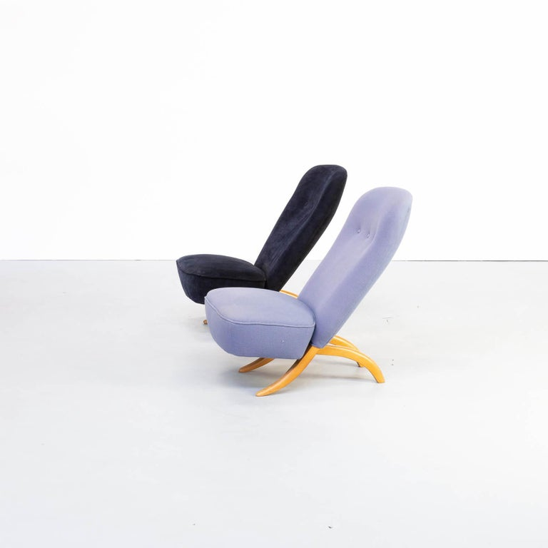 Mid-Century Modern 1950s Theo Ruth 'Congo' Fauteuil for Artifort Set/2 For Sale