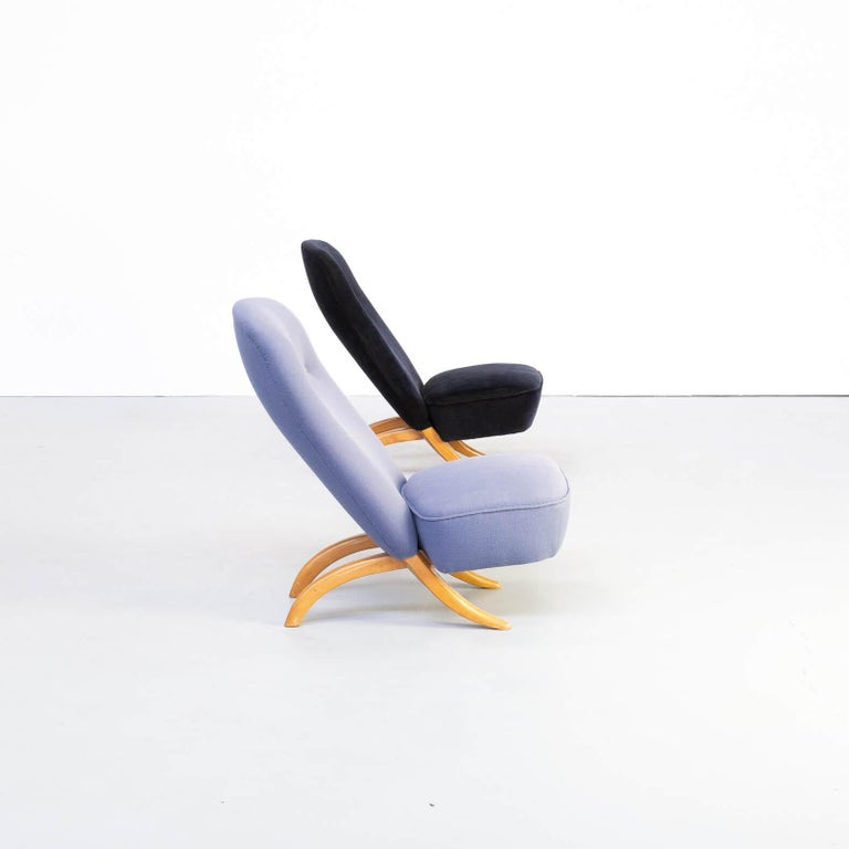 20th Century 1950s Theo Ruth 'Congo' Fauteuil for Artifort Set/2 For Sale