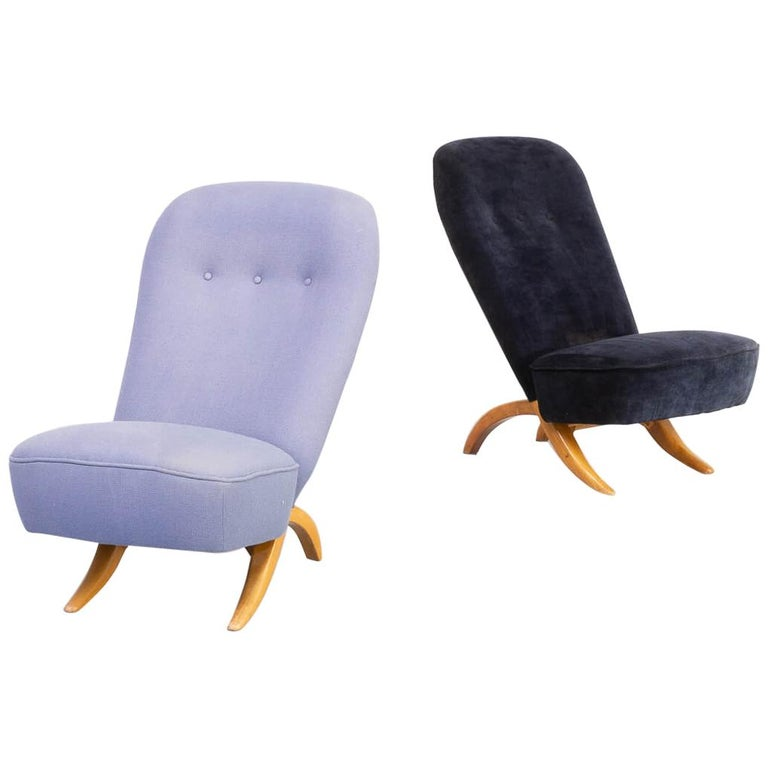 1950s Theo Ruth 'Congo' Fauteuil for Artifort Set/2 For Sale