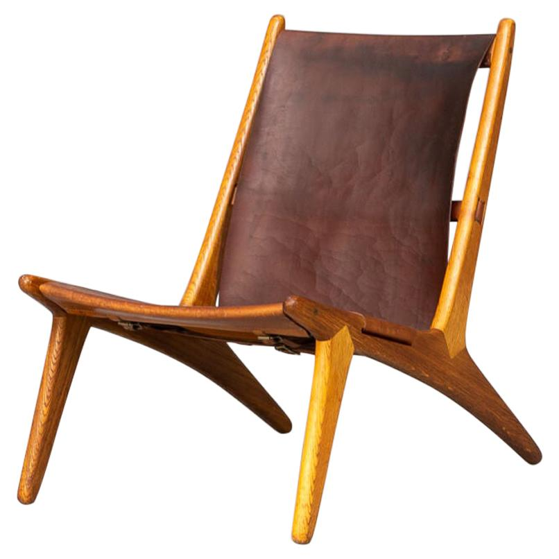 50s Uno & Östen Kristiansson Hunting Chair by for Luxus