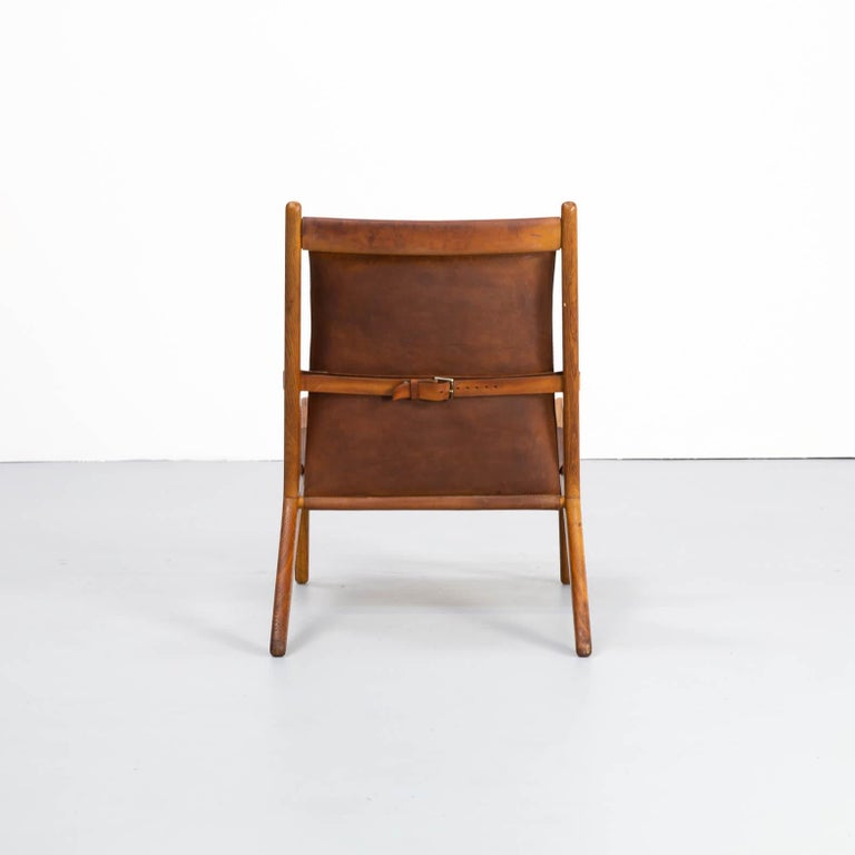 20th Century 1950s Uno & Östen Kristiansson model 204 Hunting Chair by for Luxus