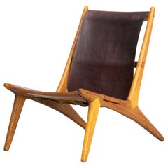 1950s Uno & Östen Kristiansson model 204 Hunting Chair by for Luxus