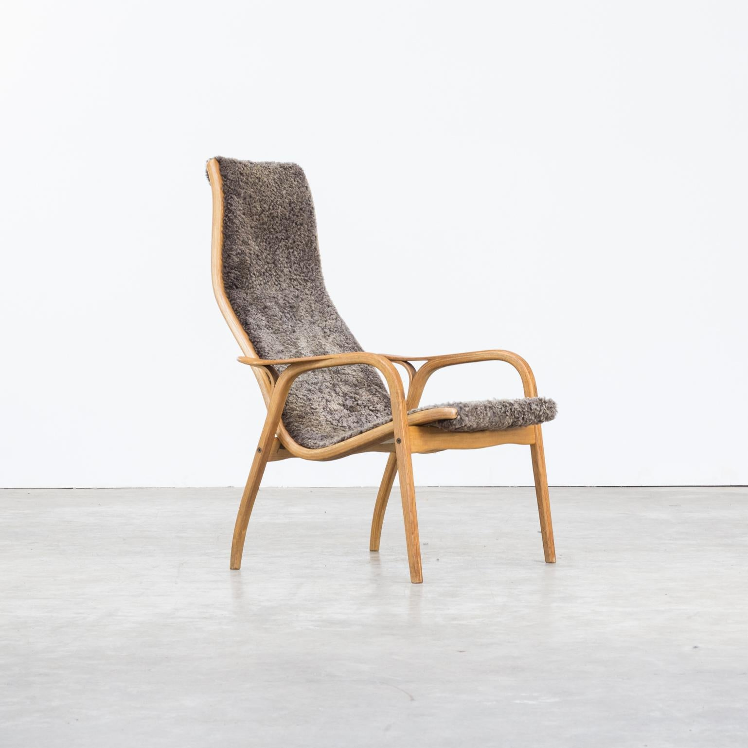 Fauteuil Retro Design.1950s Yngve Ekstrom Lamino Fauteuil For Swedese Mobler Ab