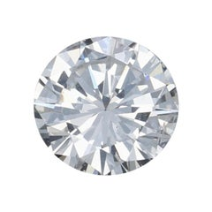 .52 Carat Loose Diamond, Round Brilliant Cut GIA Graded I1 D Solitaire