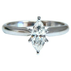 .52 Carat Natural Marquise Diamond Solitaire Engagement Ring 14 Karat