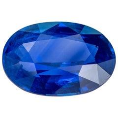 "5.22 Carat Blue ""Cornflower"" Natural Sapphire, Madagascar, Unheated"