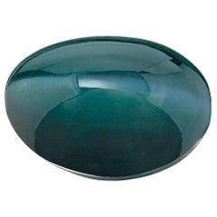 5.24 ct. Cat's Eye Alexandrite Chrysoberyl GIA, Unset 3-Stone Ring Collector Gem