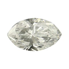 .53 Carat Loose Diamond, Marquise Cut GIA Graded Solitaire VS2 D