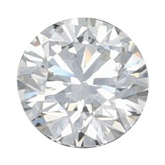 .55 Carat Loose Diamond, Round Brilliant Cut GIA Graded SI1 D Solitaire