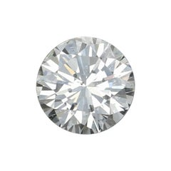 .55 Carat Loose Diamond, Round Brilliant Cut GIA Graded SI1 J Solitaire