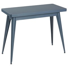 55 Console Table in Midnight Blue by Jean Pauchard & Tolix