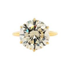 5.55 Carat Diamond Solitaire Ring