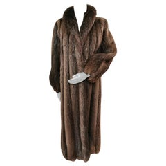 Brand New Birger Christensen Beaver Fur Coat (Size 14 - Large)