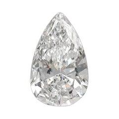 5.60 Carat Pear Shape Diamond GIA Certified