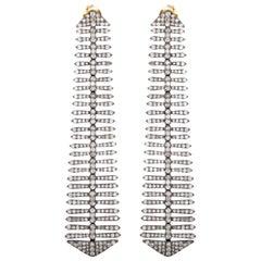 5.61 Carat Diamond Disco Drop Earrings