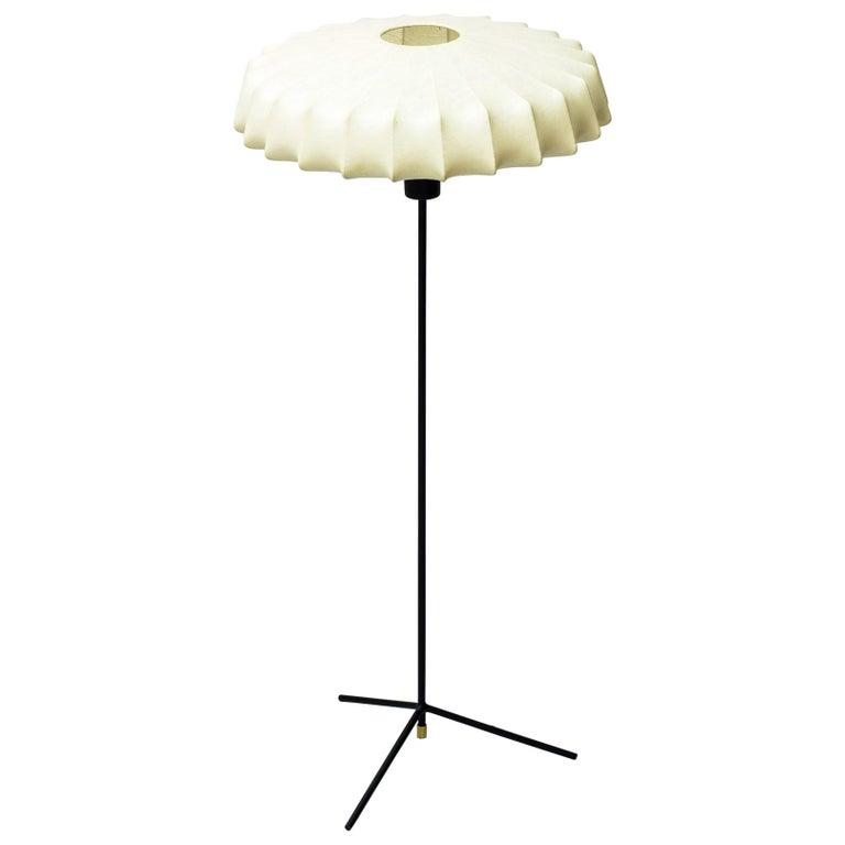 """571"" Floor Lamp by Hans Bergström, Ateljé Lyktan, Sweden, 1950s For Sale"