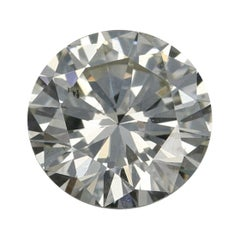 .58 Carat Loose Diamond, Round Brilliant Cut GIA Graded SI1 K Solitaire