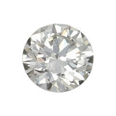 .58 Carat Loose Diamond Round Brilliant Cut GIA Graded Solitaire Very Good SI2 H