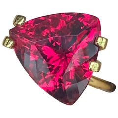 5.83 Carat Pink / Red Rubelite Tourmaline Loose Gemstone