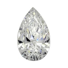5.85 Carat Pear Shape Diamond GIA Certified