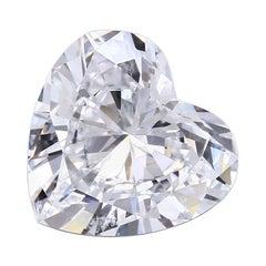 5.88 Carat Heart Shape Diamond GIA Certified