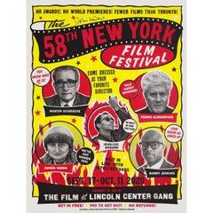58th New York Film Festival 2020 U.S. Poster Signed