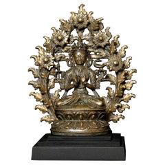 5906_14/15thC Fine Tibetan Bodhisattva