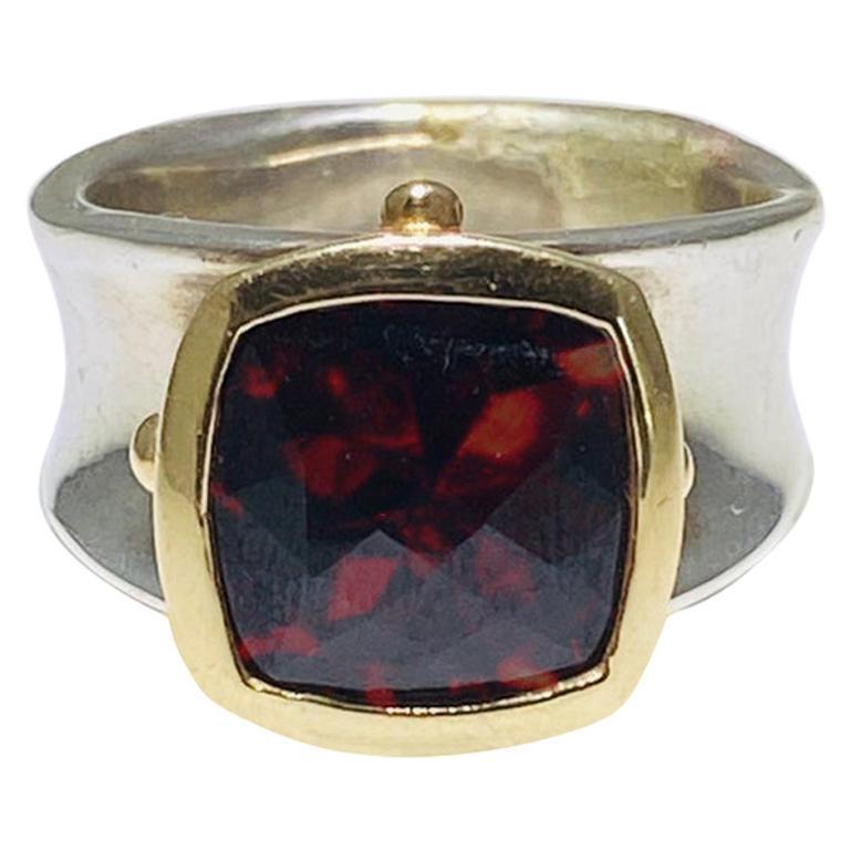 Dalmation Designer Handmade Jewelry Topaz Quartz Sterling Silver Overlay 106 Grams Neckalce 18