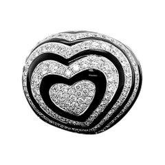 5ct Natural Diamonds 18K White Gold Ring