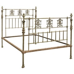 All Brass Antique Bed MK213