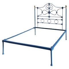 Cast Iron Platform Antique Bed, MK212