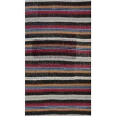 Navajo Style Flat-Weave Persian Kilim Rug, 110632