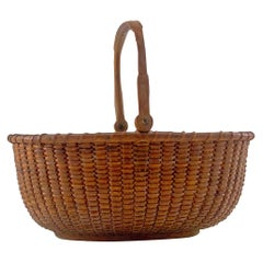 Nantucket Lightship Basket, Made by Davis Hall on the South Shoal Lightship