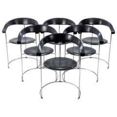 6 Arrben Canasta Chairs