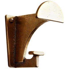 6 Bronze Contemporary Hooks by Henry Wilson