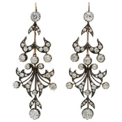 Early 1900s Chandelier Earrings