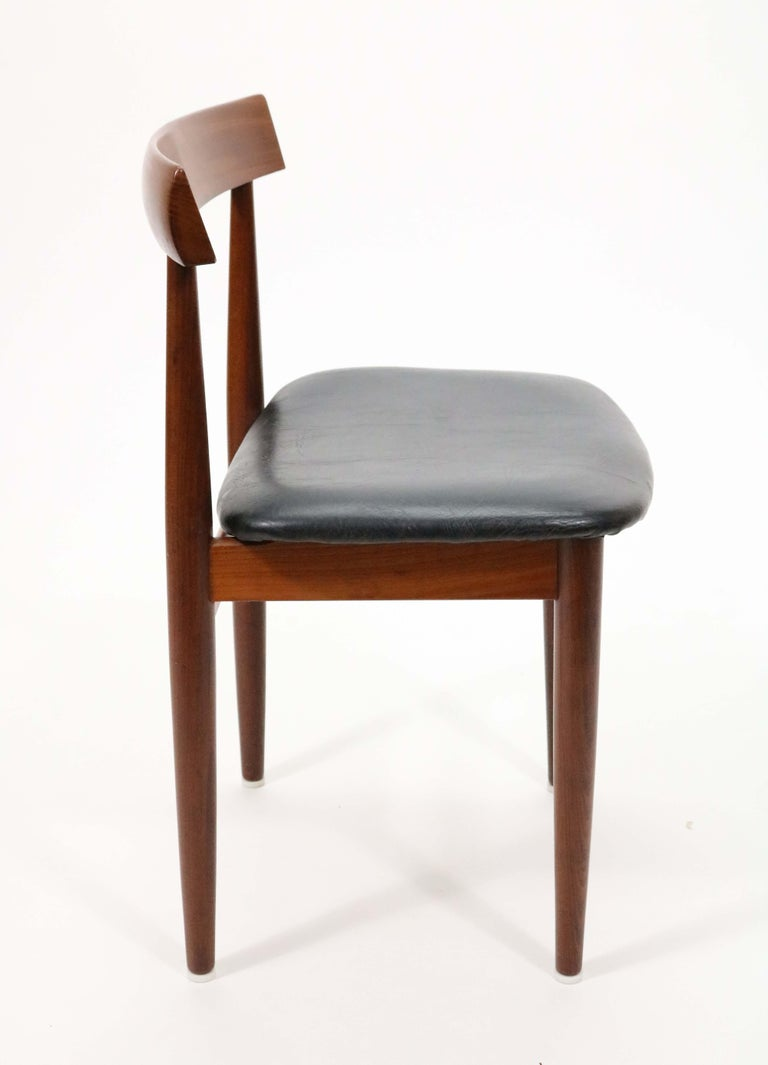 Six-Chair Dining Set by Hans Olsen for Frem Røjle For Sale 6