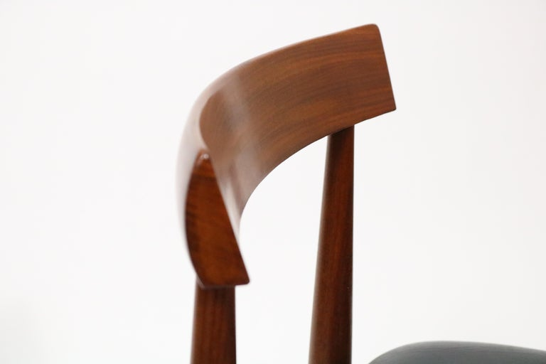 Six-Chair Dining Set by Hans Olsen for Frem Røjle For Sale 8