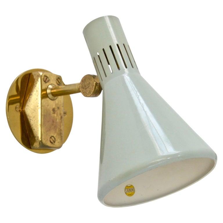 (6) Directional Stilnovo Sconces For Sale